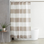 Water Repellant Shower Curtain with Hooks