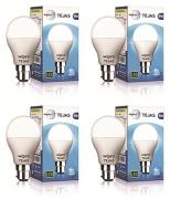 Wipro Tejas Base B22 9-Watt LED Bulb (Pack of 4)