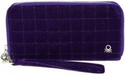 Women Purple Artificial Leather Wallet
