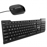 Zinq Technologies ZQ-1100 Wired Keyboard & Mouse Combo