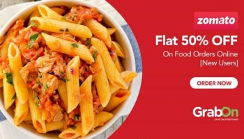 Zomato – 50% Off on Order of Rs. 159 & More with Ola Money Postpaid